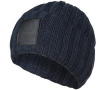 Mütze, Schurwolle, marine