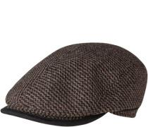Sportmütze, Wolle, -grau gemustert
