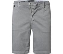 Hose Shorts, Baumwolle, grün