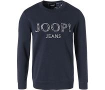 Sweatshirt, Baumwolle, marine