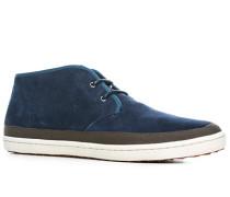 Schuhe Desert Boots, Veloursleder, indigo