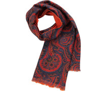 Schal, Wolle, dunkel paisley