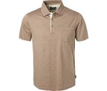 Polo-Shirt, mercerisierte Baumwolle