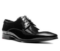 Schuhe Derby Jerez, Lack-Kalbleder