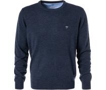 Pullover, Wolle-Kaschmir, dunkel