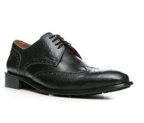 Schuhe Brogues, Leder, anthrazit