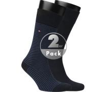 Socken, Baumwolle, navy
