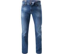 Jeans John, Straight Fit, Baumwoll-Stretch