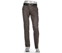 Hose Chino Lou, Regular Slim Fit, Mikrofaser