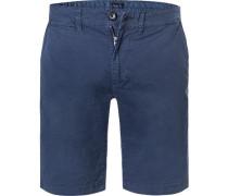 Hose Shorts, Regular Fit, Baumwolle, dunkel