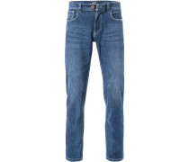 Jeans, Regular Fit, Baumwoll-Stretch, denim