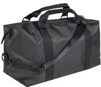 Reisetasche, Nylon, anthrazit meliert