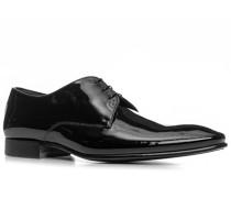 Schuhe Derby, Kalblackleder