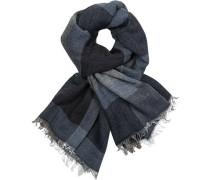 Schal, Alpaka-Wolle, -grau gemustert
