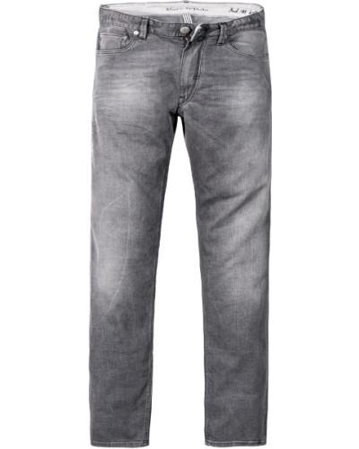 Jeans, Slim Fit, Baumwoll-Strech, dunkel