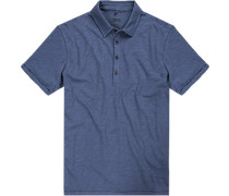 Polo-Shirt, Baumwolle,  meliert
