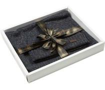 Schal und Mütze in Geschenkbox, Wolle