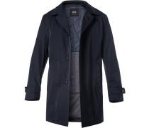 Mantel, Baumwolle wasserabweisend, dunkel