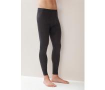 Lange Unterhose, Wolle-Seide, anthrazit