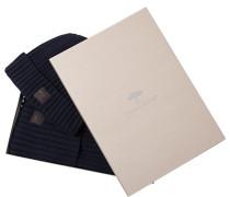 Mütze+Schal in Geschenkbox, Baumwolle-Kaschmir
