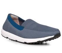 Schuhe Loafer, Textil