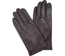 Handschuhe, Lammeder, dunkel