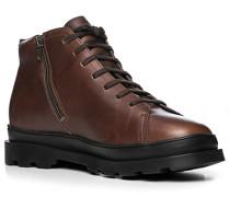 Schuhe Schnürboots, Leder GORE-TEX, dunkel