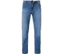 Jeans, Regular Fit, Baumwoll-Stretch, jeans
