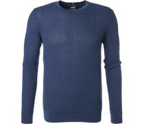 Pullover, Baumwolle, dunkel