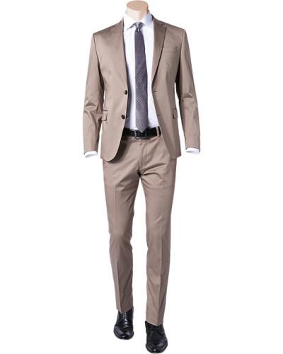 Anzug, Slim Fit, Baumwolle