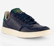 Schuhe Sneaker Supercourt, Leder, navy