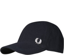 FRED PERRY, Cap, Baumwolle, navy