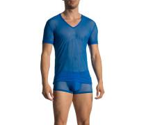 T-Shirt, Mikrofaser, aqua