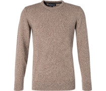 Pullover, Wolle-Seide,  meliert