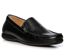 Schuhe Mokassins, Lammleder