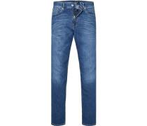 Jeans, Regular Fit, Baumwoll-Stretch, denim