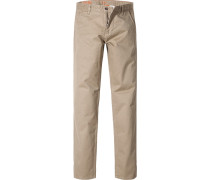 Hose Chino, Slim Fit, Baumwolle, sand