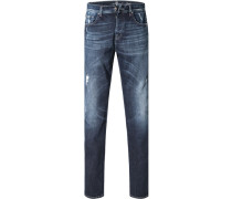 Jeans, Slim Fit, Baumwoll-Stretch, jeans
