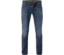 Jeans, Skinny Fit, Baumwoll-Stretch, denim