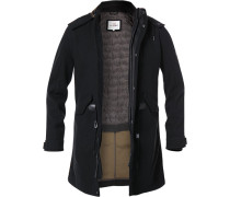 Mantel Parka, Wolle