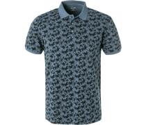 Polo-Shirt, Modern Fit, Baumwoll-Piqué,  gemustert