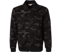 Pullover Blouson, Mikrofaser, camouflage