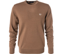 Pullover, Wolle, caramel
