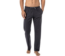 Pyjamahose, Baumwolle, dunkel