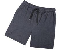 Schlafanzug Pyjamashorts, Modal, hell meliert