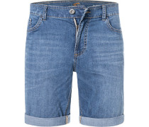 Jeansshorts, Modern Fit, Baumwoll-Stretch