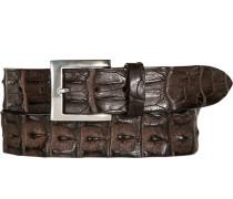 Gürtel dunkel, Breite ca. 4 cm