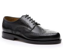 Schuhe Budapester, Kalbleder