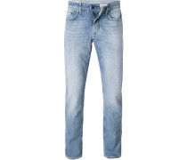Jeans Karl, Slim Fit, Baumwolle, hell