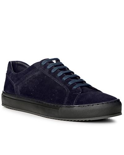 JOOP! Herren Schuhe Sneaker, Verloursleder, navy